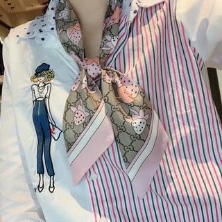 Gucci - 新デザインの100%シルクスカーフ