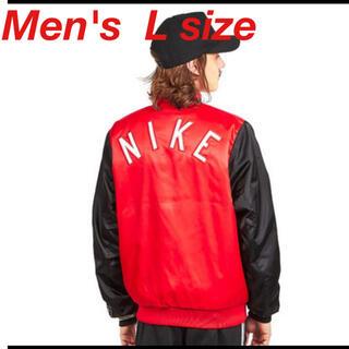 ナイキ(NIKE)の【新品未使用品】NIKE タグ付 L ポリエステル RED スタジャン(スタジャン)