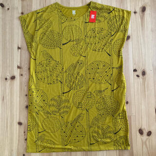 グラニフ(Design Tshirts Store graniph)の新品☆フリーサイズ グラニフ ふくろうワンピース(ひざ丈ワンピース)
