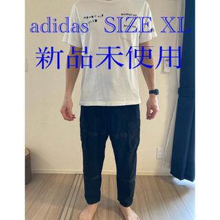 アディダス(adidas)の【adidas】カーゴパンツ ̄ブラック_SIZE  XL(ワークパンツ/カーゴパンツ)