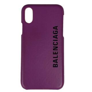 バレンシアガ(Balenciaga)のバレンシアガ ロゴ 携帯ケース レディース 【中古】(モバイルケース/カバー)
