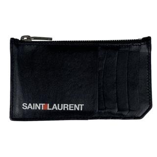 サンローラン(Saint Laurent)のサンローラン ロゴ コインケース メンズ 【中古】(コインケース/小銭入れ)