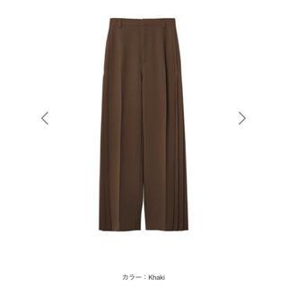 ルシェルブルー(LE CIEL BLEU)のLE CIEL BLEU  Side Pleated Pants SS21(その他)