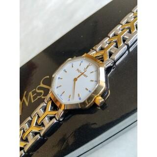 Saint Laurent - イヴサンローラン腕時計 美品レディースクォーツ B