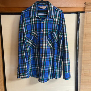 80s BIG MAC ネルシャツ チェックシャツ XLサイズ