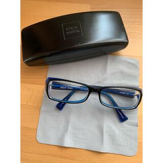 アランミクリ(alanmikli)のアランミクリ メガネフレーム  ケース/クロス付き(サングラス/メガネ)