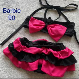 バービー(Barbie)のBarbie バービー 子供 水着 セパレート 赤ちゃん スイムウェア ビキニ(水着)