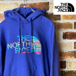 THE NORTH FACE - THE NORTH FACE パーカー 紫 USA製 レディースMサイズ