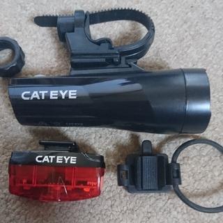 キャットアイ(CATEYE)のcateye キャットアイ gvolt70・rapid mini セット LED(パーツ)