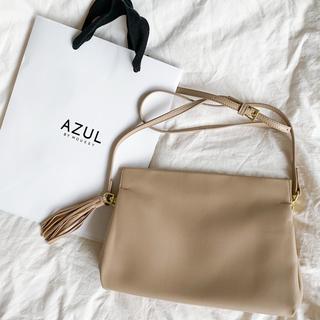 アズールバイマウジー(AZUL by moussy)のショップ袋付き2wayタッセルマグネットクラッチバッグ(クラッチバッグ)
