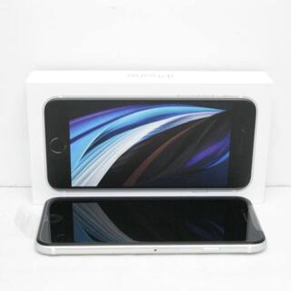 アイフォーン(iPhone)の【S】SIMフリー au iPhoneSE (第2世代) 64GB ホワイト(スマートフォン本体)