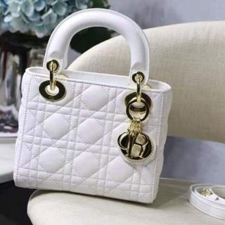 Dior - レディディオール チェーンミニバッグ