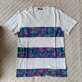 ニーキュウイチニーキュウゴーオム(291295=HOMME)の291295=HOMME  カモフラ柄ボーダーTEEシャツ(Tシャツ/カットソー(半袖/袖なし))