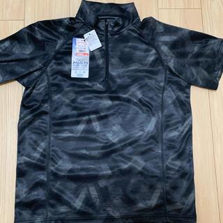 シマムラ(しまむら)の【値下げ】新品 半袖ハーフジップシャツ(シャツ)