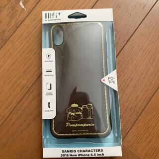 ポムポムプリン(ポムポムプリン)のiPhoneケース 6.5インチ ポムポムプリン  イーフィット サンリオ(iPhoneケース)