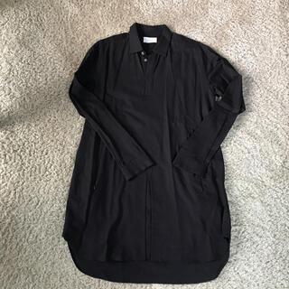 シセ(Sise)のシセ Sise ロングシャツ ブラック (シャツ)
