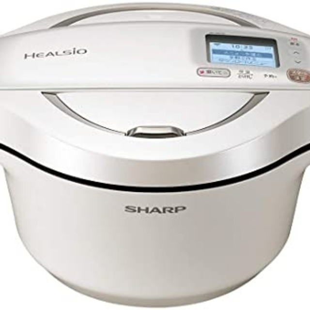 SHARP(シャープ)の【新品未使用品】SHARP KN-HW24E-W スマホ/家電/カメラの調理家電(調理機器)の商品写真