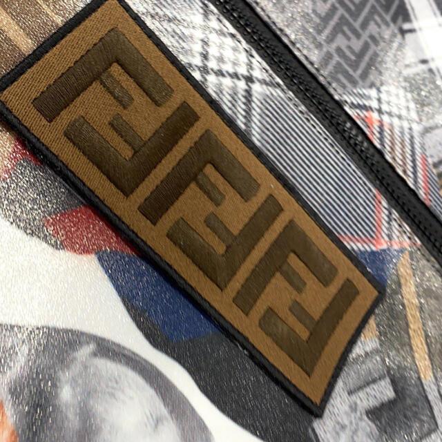 FENDI(フェンディ)のFENDI 期間限定SALE コラージュ柄 ユニセックス ロゴ付きリュック メンズのバッグ(バッグパック/リュック)の商品写真