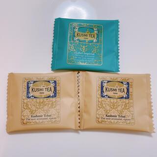 *KUSMI TEA ティーバッグ 3つセット*(茶)