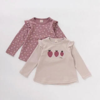 プティマイン(petit main)のプティマイン GIRLSアソートTシャツ2枚セット(Tシャツ/カットソー)