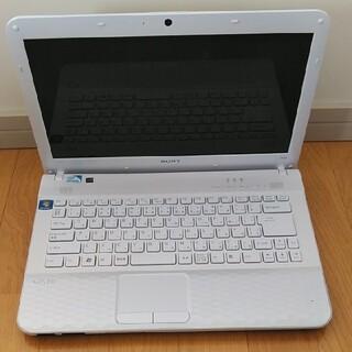 バイオ(VAIO)のまるてる様専用 VAIOノートパソコン VPCEG34FJ(ノートPC)