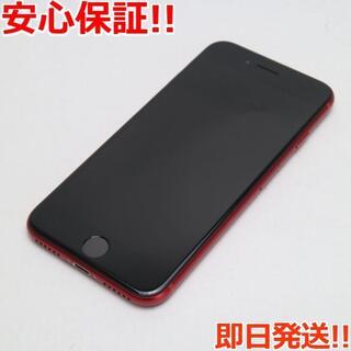 アイフォーン(iPhone)の美品 SIMフリー iPhone SE 第2世代 64GB レッド (スマートフォン本体)
