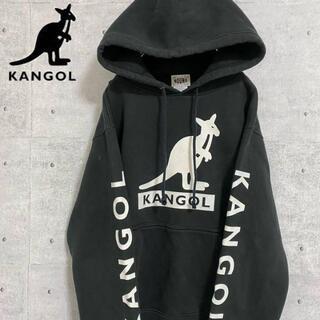 KANGOL - カンゴール KANGOL プルオーバー ビックプリント 古着 デカロゴ