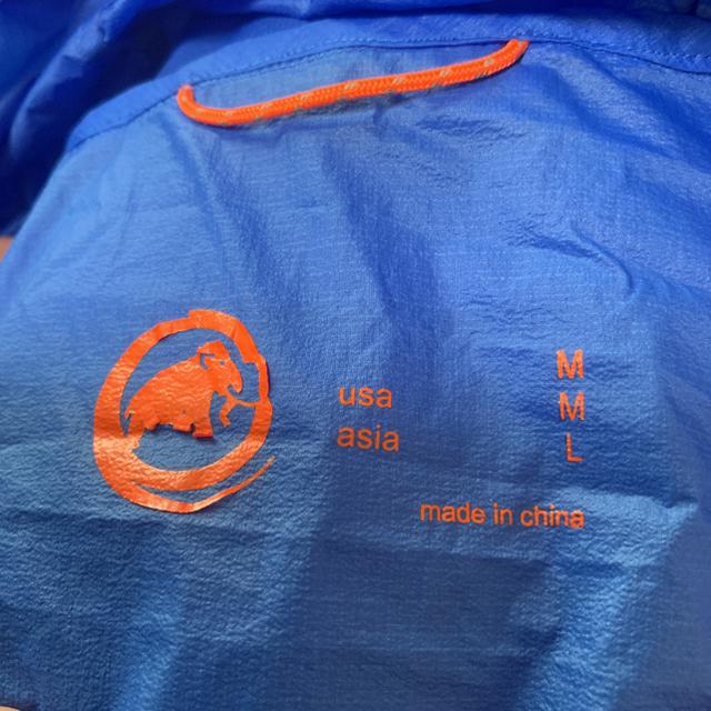 Mammut(マムート)のマムート ライトシェル Lサイズ メンズのジャケット/アウター(マウンテンパーカー)の商品写真