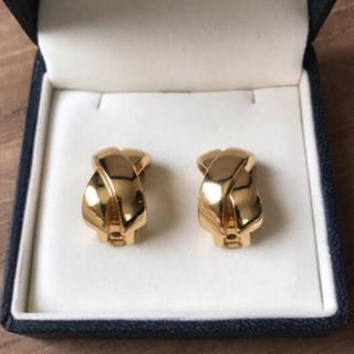 クリスチャンディオール(Christian Dior)のクリスチャン ディオール  イヤリング ゴールドカラー (イヤリング)