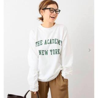 DEUXIEME CLASSE - ドゥーズィエムクラス購入 the academy newyork スウェット 白