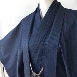 着物 男物 本場大島紬アンサンブル 長襦袢セット 羽織(着物)