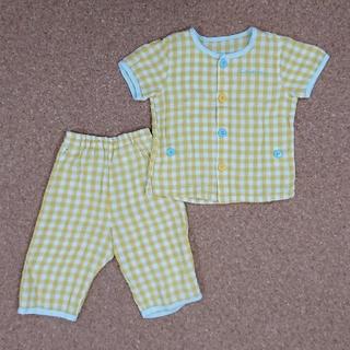 コンビミニ(Combi mini)の《combi mini》半袖 ダブルガーゼ パジャマ 90cm(パジャマ)