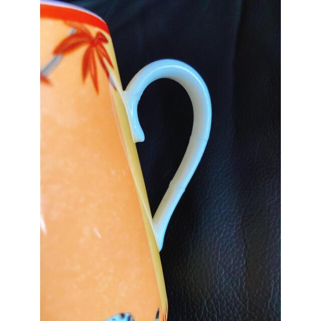 Hermes(エルメス)のHERMES エルメス アフリカ マグカップ 訳あり インテリア/住まい/日用品のキッチン/食器(グラス/カップ)の商品写真