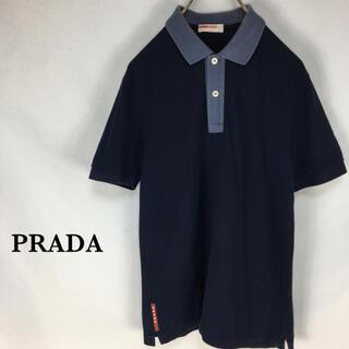 プラダ(PRADA)のPRADA ポロシャツ SPORTS  プラダスポーツ メンズ Tシャツ 半袖(ポロシャツ)