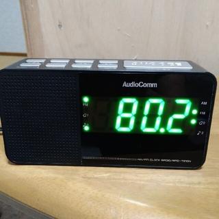 置き時計ラジオ アラームクロックラジオ オーム電機(ラジオ)