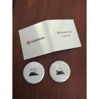 lululemon バッチ 記念品 2個セット