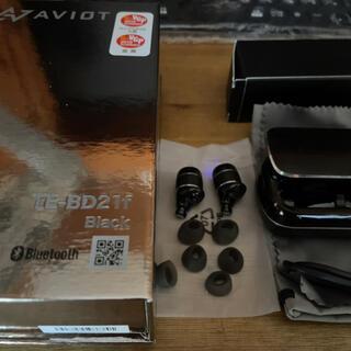 アヴォイド(Avoid)のAVIOT TE-BD21f Black(ヘッドフォン/イヤフォン)
