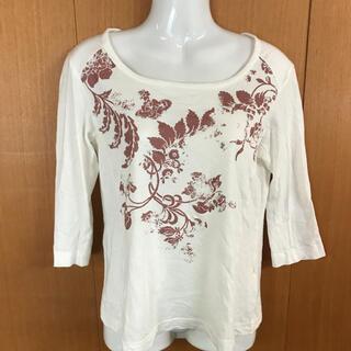 ヴィヴィアンウエストウッド(Vivienne Westwood)のヴィヴィアンウエストウッド レッドレーベル 七分袖Tシャツ オフホワイト(Tシャツ(長袖/七分))