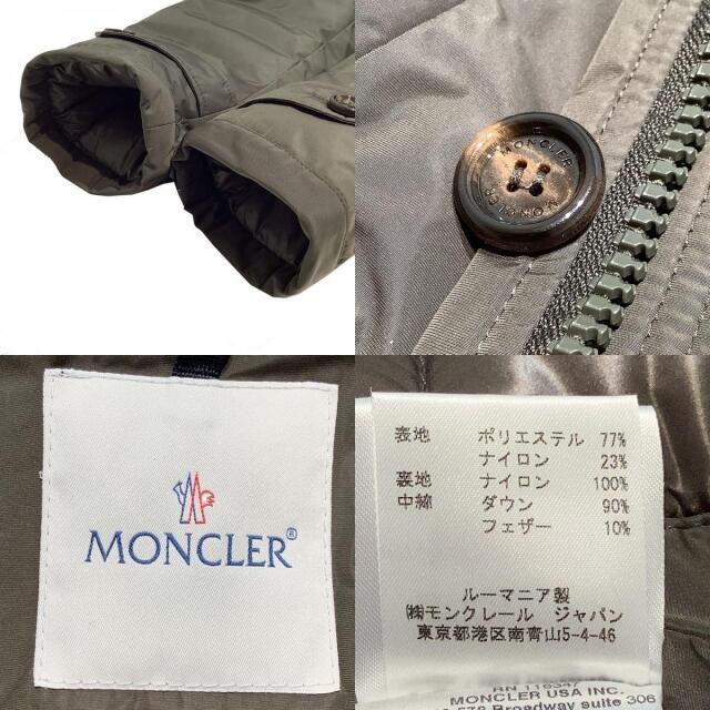 MONCLER(モンクレール)のモンクレール MONCLER ダウンモッズコート モッズコート メンズ【中古】 メンズのジャケット/アウター(モッズコート)の商品写真