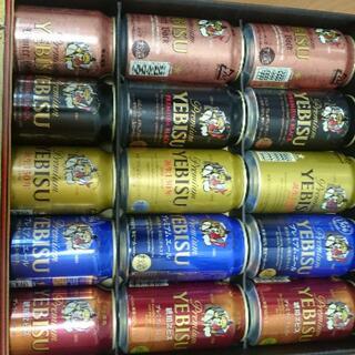 サッポロ - エビス5種セット15缶  2020winter gift
