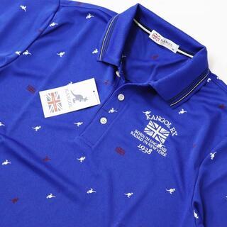 KANGOL - (新品)KANGOL 鹿の子 半袖 ポロシャツ