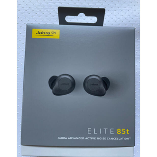 最終値下げ Jabra Elite 85t Titanium Black(ヘッドフォン/イヤフォン)
