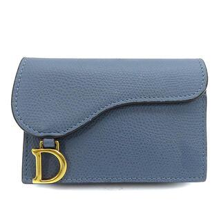 クリスチャンディオール(Christian Dior)のクリスチャン・ディオール  カードケース  サドル型 コンパクト   ブ(パスケース/IDカードホルダー)