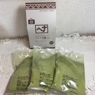 ナイアード  ヘナ+木藍 【茶系】 100g×3コ(白髪染め)
