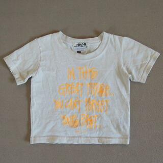 ステューシー(STUSSY)のstussy baby Tシャツ 白 18 months(Tシャツ/カットソー)
