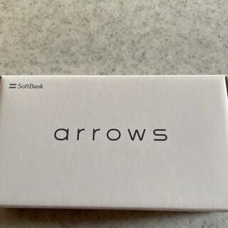 arrows - 新品arrowsUスマートフォンブルー Softbank