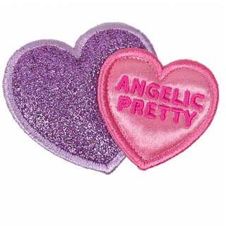 アンジェリックプリティー(Angelic Pretty)のAngelic Pretty twinheartクリップ(バレッタ/ヘアクリップ)
