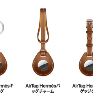 Hermes - HERMES airtag バッグチャーム バレニア apple エルメス 天才