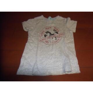 ハッカキッズ(hakka kids)のhakka kids 男児 Tシャツ サイズ120 恐竜 目がキラキラ(Tシャツ/カットソー)