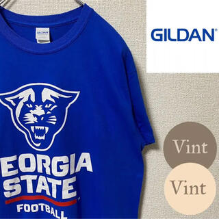 GILDAN - 【GILDAN】NCAA ジョージア ステート パンサーズ チームロゴTシャツ